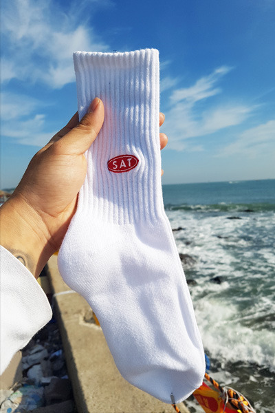 acc962. sat point socks (SOLD OUT)