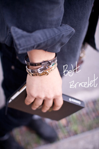 acc129. belt bracelet [3color] (SOLD OUT)